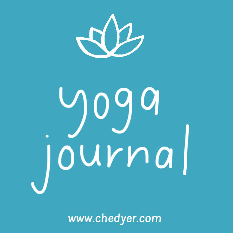 yoga and journaling