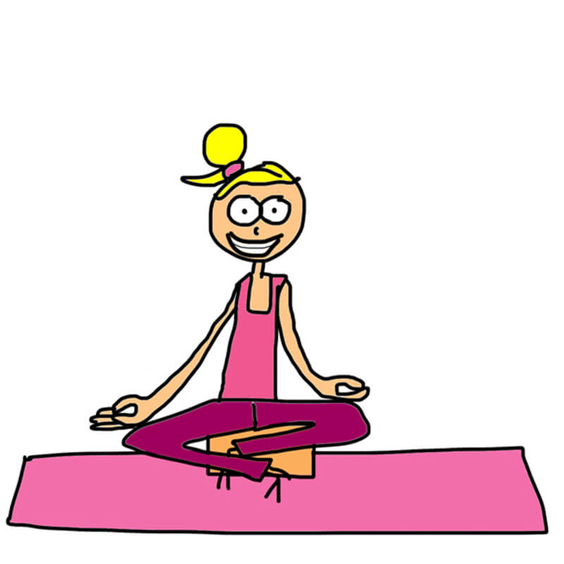 Yoga Cartoon Funny
