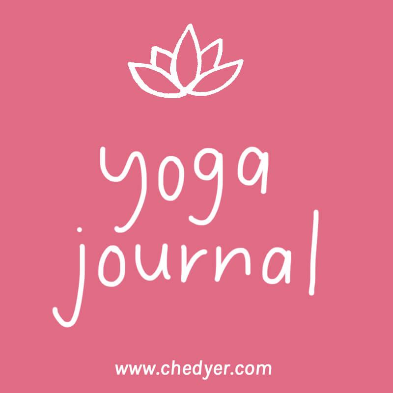 yoga journal writing